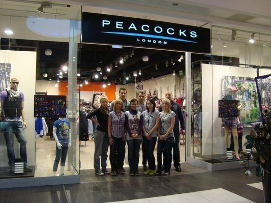 франшиза Peacocks