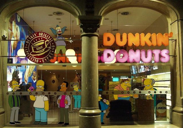 франшиза Dunkin Donuts