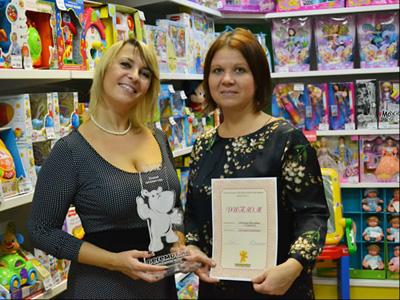 лучший франчайзинговый магазин сети БЕГЕМОТиК - 2012