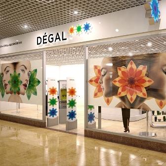 магазин косметики Degal
