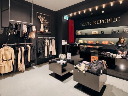 магазины Love Republic