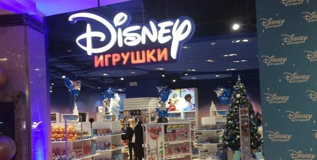 1-ый  вРФ магазин игрушек Disney открывается в«Детском мире» наЛубянке