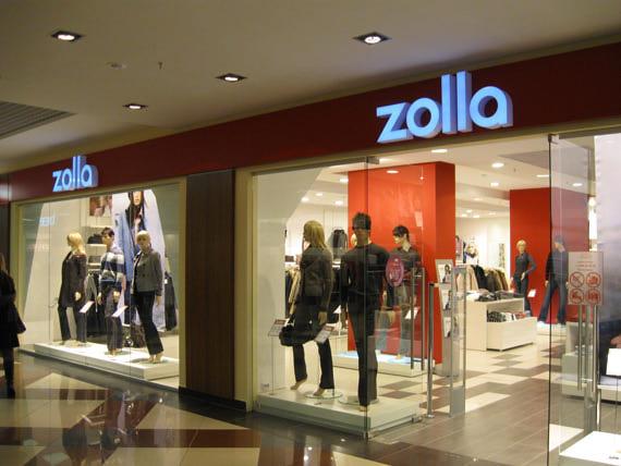 магазин Zolla