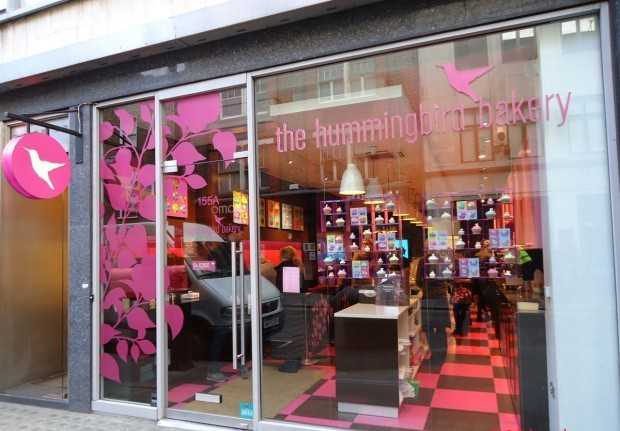 франшиза The Hummingbird Bakery
