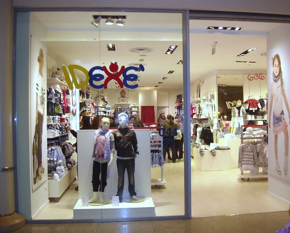 магазин детской одежды idexe